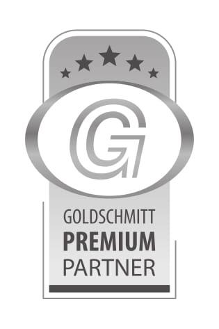 Goldschmitt Premiumpartner Emblem
