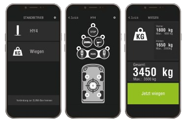 Wiegefunktion App AL-KO HY4